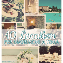 10 Location per matrimoni a tema