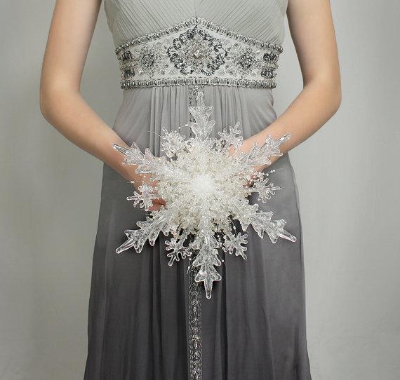 fiocco di neve bouquet
