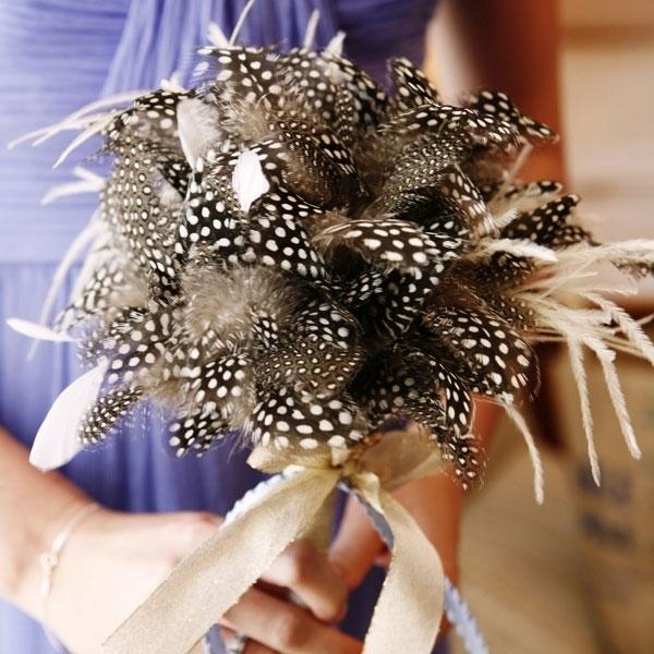 bouquet piume